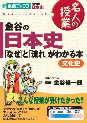 【参考書活用】金谷の日本史「なぜ」と「流れ」がわかる本文化史 (東進ブックス 名人の授業)